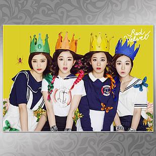 Плакат K-Pop Red Velvet 007