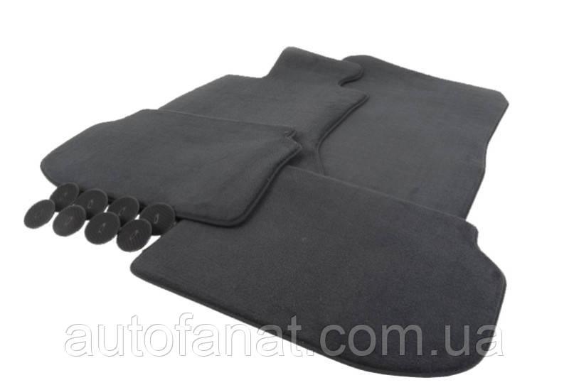 Комплект черных велюровых ковриков салона для BMW X5 (F15) (51477439856)