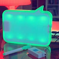 Led доска (лед доска) с подсветкой (ночник) для записей с функцией диктофона