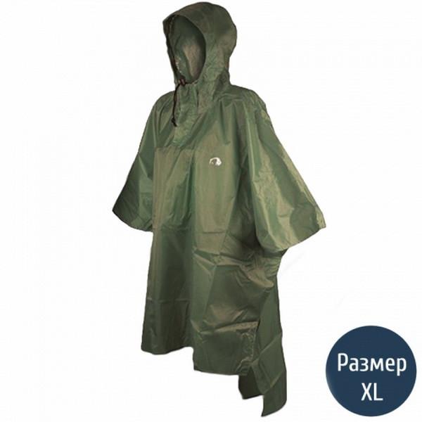 Дощовик-пончо Tatonka Poncho (р. XL-XXL), хакі 2801.036