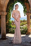Топ! Выпускное платье в пол с открытыми плечами, модель Dianelli 65