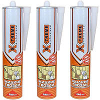 Клей жидкие гвозди на полиуретановой основе 280 мл X-Treme (64970)