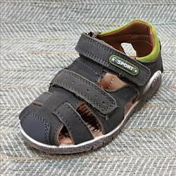 Дитячі босоніжки з закритим носком, Jong Golf розміри: 27-28