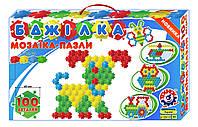 Мозаика-пазлы Пчелка на 100 деталей. Мозайка для детей.