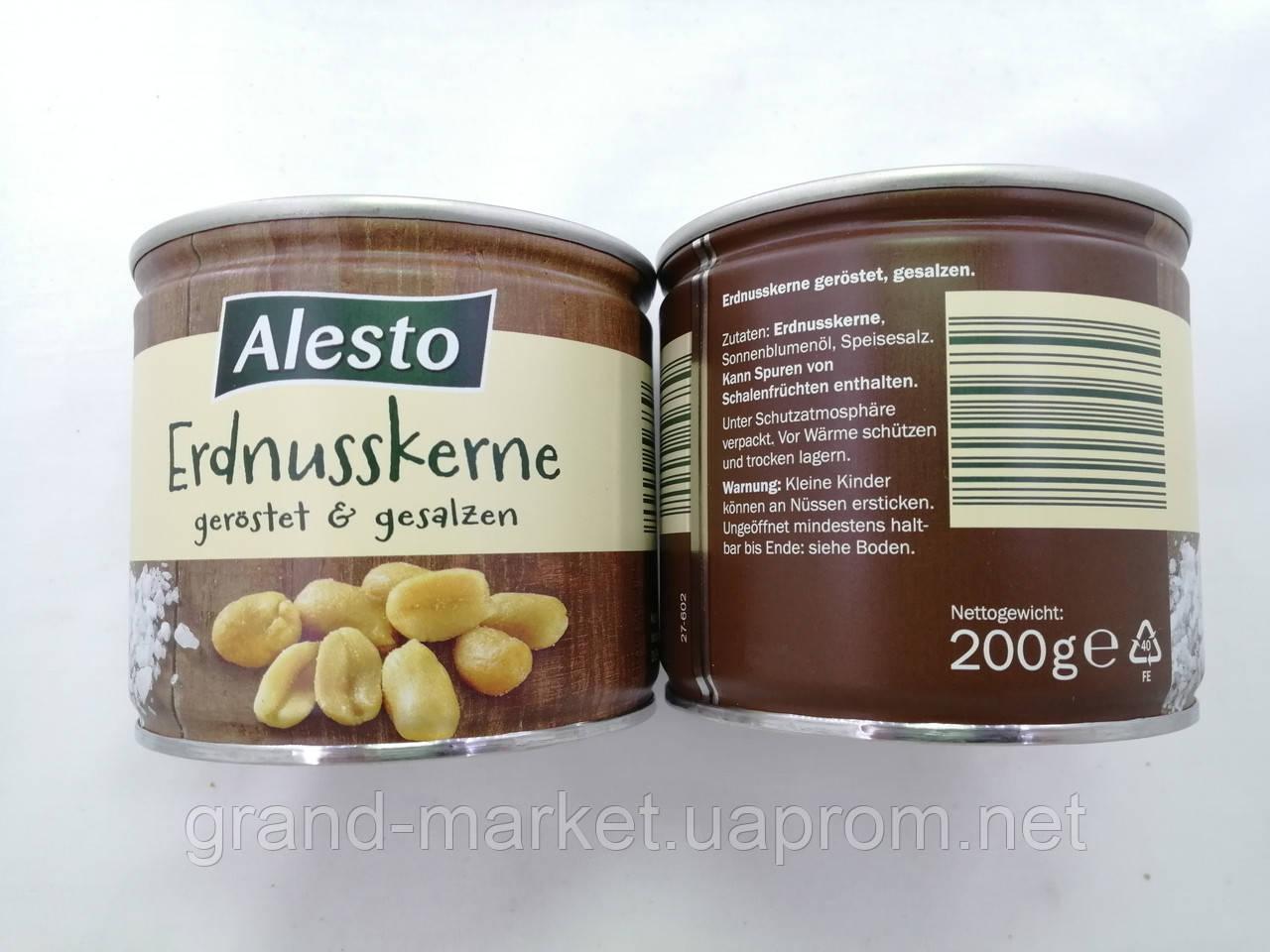 Соленый арахис Alesto 200г