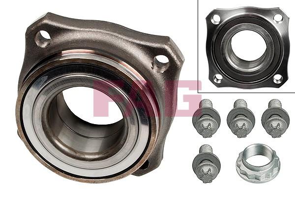 Подшипники задней ступицы  BMW X3 (F25), X4 (F26) 1.6-3.0D FAG 713 6495 70