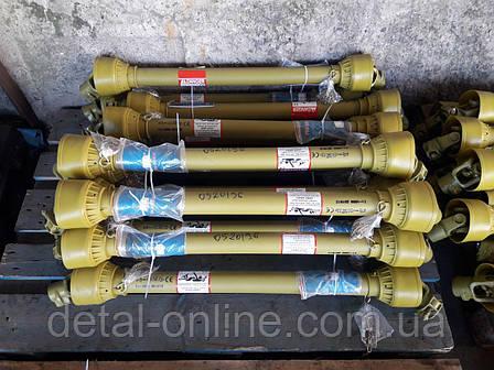 Вал карданный L=1000-1600 /6*8/ крутящий момент 160н*м, фото 2