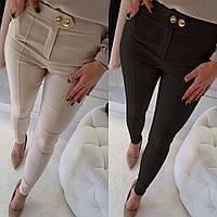 Женские стильные зауженные брюки, фото 1