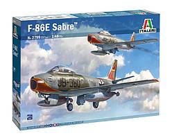 F-86E Sabre. Сборная модель самолета в масштабе 1/48. ITALERI 2799