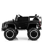Детский электромобиль Джип Bambi M 4150EBLRS-2 Jeep черный автопокраска, фото 4