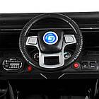 Детский электромобиль Джип Bambi M 4150EBLRS-2 Jeep черный автопокраска, фото 7