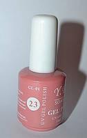 Гель - лак Yre, № 23, цвета в ассортименте 15 мл