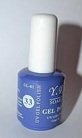 Гель - лак Yre, № 33, цвета в ассортименте 15 мл