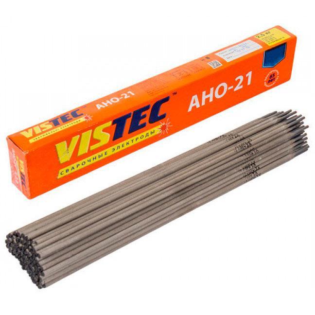 Сварочный электрод 2.5 мм, 1 кг Вистек АНО-21 (65679)
