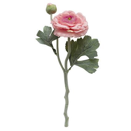 Искусственный цветок Лютики, 35 см., Розовый (630072)