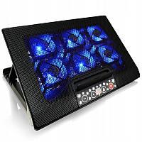 Подставка для ноутбука AAB Cooling NC77 Black, охлаждающая