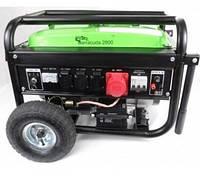 Генератор Barracuda 2800 Вт, 3 фазы AVR бензин 4-х тактный