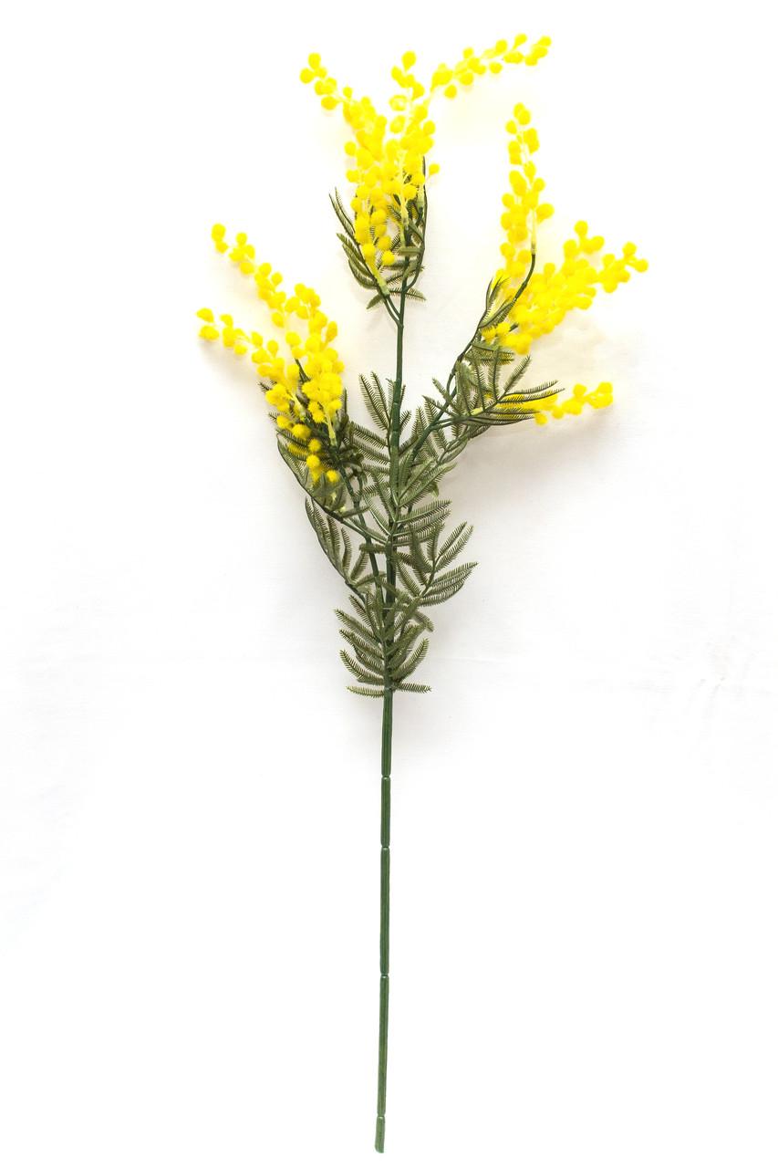 Искусственный цветок Мимоза (Акация), 88 см., Желтый (630133)