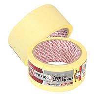 Лента малярная 48мм, 20м, желтая INTERTOOL DM-4820