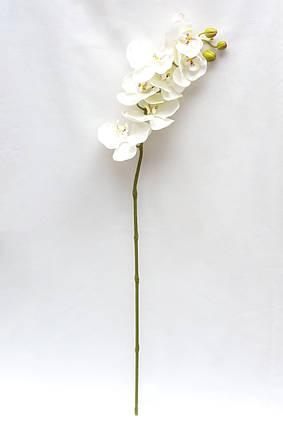 Искусственный цветок Орхидея, 35 см., Белый (630331)