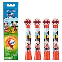 Насадки 4 шт Oral-B Stages Kids Микки на детские зубные щетки EB-10