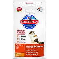 Hill's Feline Adult Hairball с курицей 1,5 кг.