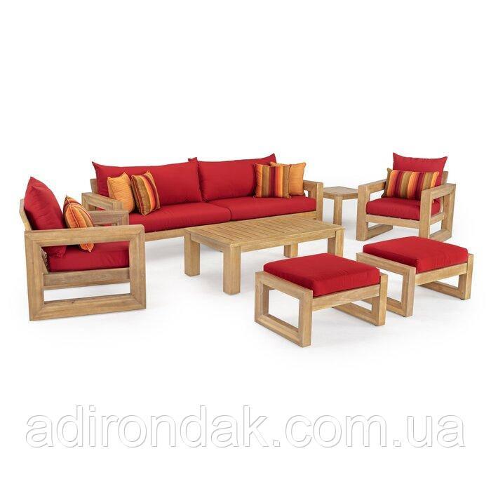 Комплект террасной мебели Sunset Red