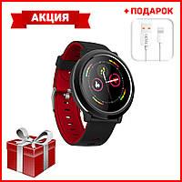 Умные часы Smart Watch Смарт часы B18 + кабель зарядки и синхронизации, зарядное устройство в ПОДАРОК