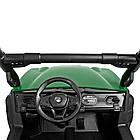 Детский электромобиль Джип Bambi M 4269EBLR-5 Багги зеленый, фото 2