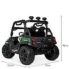 Детский электромобиль Джип Bambi M 4269EBLR-5 Багги зеленый, фото 4