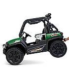 Детский электромобиль Джип Bambi M 4269EBLR-5 Багги зеленый, фото 5