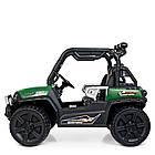 Детский электромобиль Джип Bambi M 4269EBLR-5 Багги зеленый, фото 7