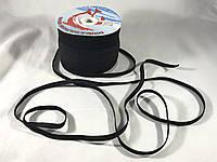 Резинка плоская  7 мм цвет черный
