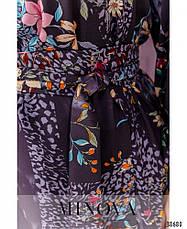 Платье женское большой размер №1744-сливовый| 48|50|52|54|56|58|60, фото 3