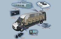 Комплект кондиционера 12 KW (Микроавтобуса)