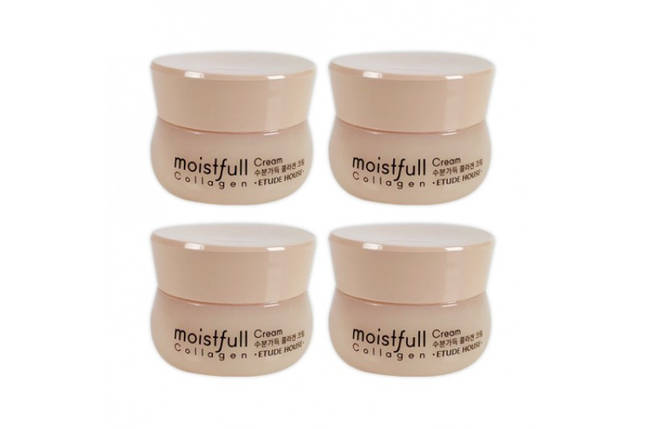 Глубоко увлажняющий крем с морским коллагеном Etude House Moistfull Collagen Deep Cream, 10 мл, фото 2