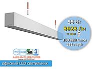 Офісні Led світильники підвісні, накладні, вбудовувані., фото 2