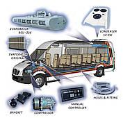 Комплект кондиционера 18 KW (Микроавтобуса)
