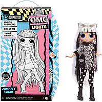 Кукла оригинал Лол ОМГ Прекрасная леди светится L.O.L. lol Surprise OMG Lights Groovy Babe Fashion Doll 565154