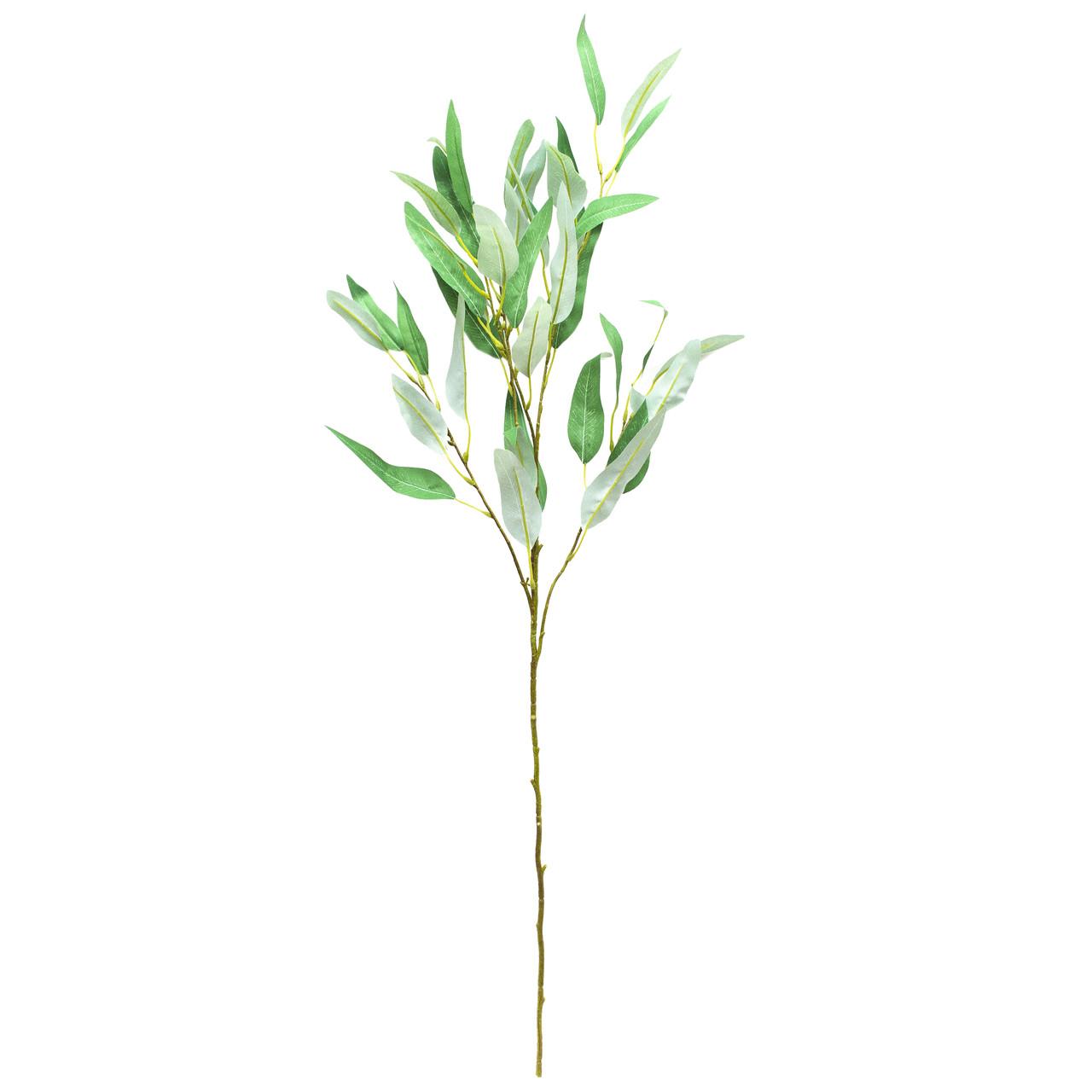 Искусственная веточка, Эвкалипт, 95 см., Светло-зеленый (631598)
