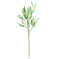 Искусственная веточка, Эвкалипт, 95 см, светло-зеленый (631598)