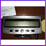 Автомобільні годинник термометр, вольтметр VST 7045V 12\24, фото 2