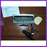 Автомобільні годинник термометр, вольтметр VST 7045V 12\24, фото 3