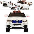 Детский электромобиль джип BMW X5 4WD M 2762(MP4)EBLR-1 белый, фото 3