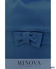 Платье женское большой размер №41581-1-темно-синий| 56-58|60-62, фото 3