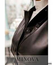 Платье женское большой размер №783-чёрный| 50-52|54-56|58-60|62-64, фото 3