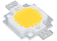 Светодиод 10Вт 10W 9-12В - желтый