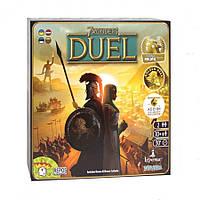 7 Чудес: Дуель (7 Wonders: Duel) Настільна стратегічна гра для двох. Ігромаг