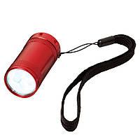 Фонарик Comet карманный на светодиодах, красный, от 10 шт