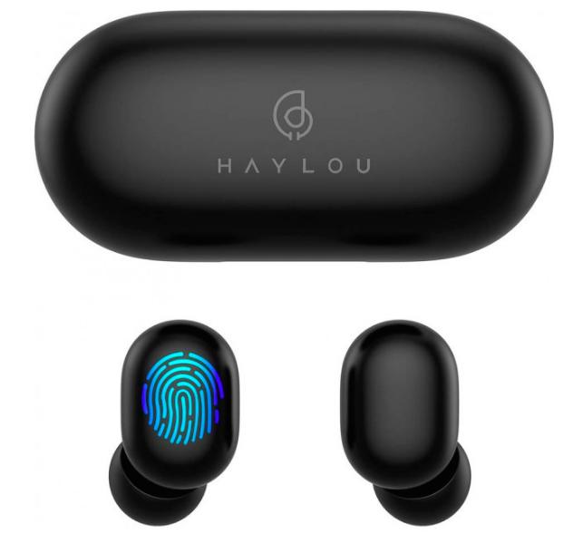 Наушники Xiaomi Haylou GT1 Plus APTX  (Black)